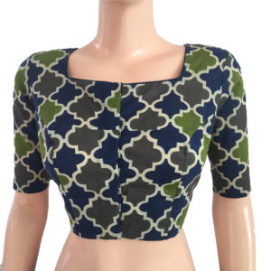 Purchase Printed Cotton Online Readymade Blouses