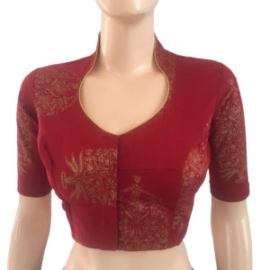 Purchase Online Readymade Printed Cotton Blouses