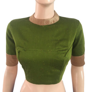Buy Readymade Silk Blouses Online