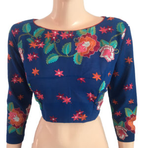Purchase Readymade Online Embroidery Cotton Blouses
