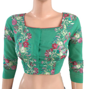Purchase Online Readymade Embroidery Cotton Blouses