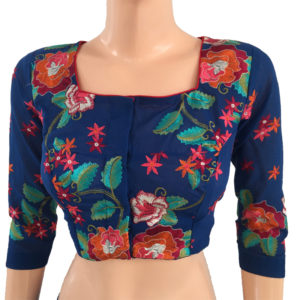 Purchase Online Readymade Embroidery Blouses Cotton