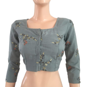 Purchase Online Blouses Cotton Readymade Embroidery