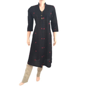 Buy Ethnic Kurtis Online Readymade- Scarlet Thread
