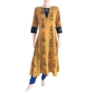 Buy Printed Cotton Readymade Kurtis Online