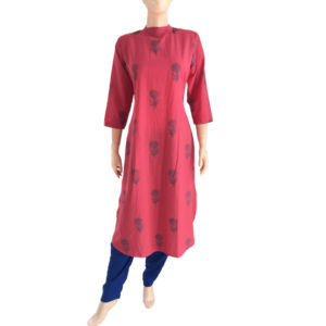Buy Printed Cotton Readymade Online Kurtis