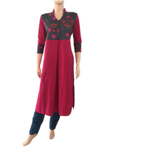 Buy Online Printed Cotton Kurtis Readymade