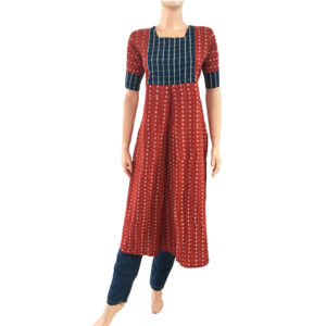 Buy Online Printed Cotton Readymade Kurtis