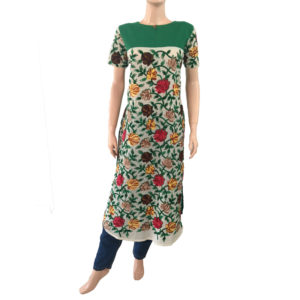 Online Buy Readymade Kurtis Embroidery