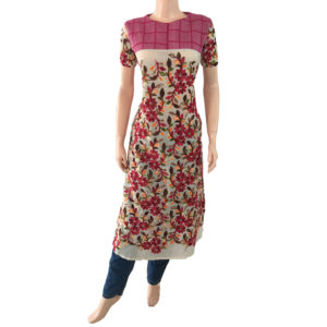 Online Kurtis Readymade Embroidery Buy