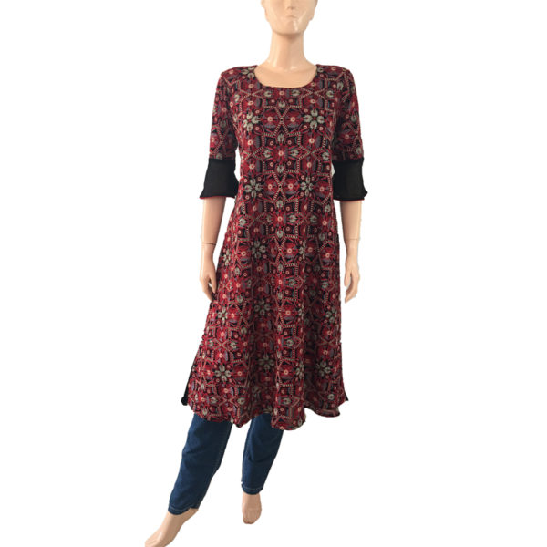 Online Kurtis Embroidery Readymade Buy