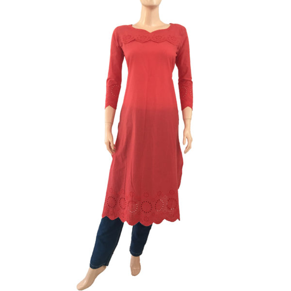 Online Kurtis Readymade Buy Embroidery
