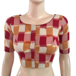 Readymade Purchase Ikat Blouses Online