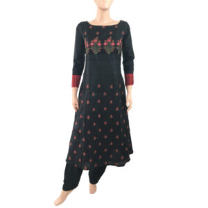 Silk Embroidered Readymade Kurtis Purchase Online